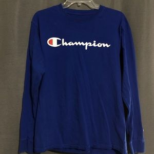Vintage champion authentic long sleeve